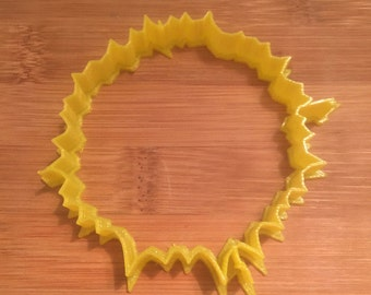 Firework Cookie/Bread Cutter