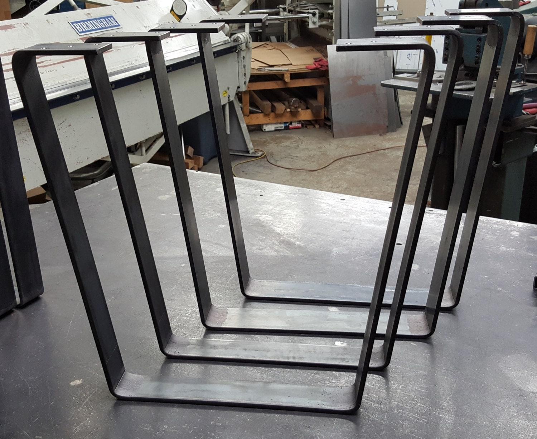 Coffee Table Metal Legs, Industrial Legs, 3
