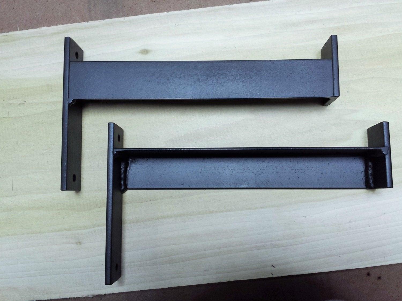 4 - 6 Industrial Heavy Duty Shelf Bracket. Metal Angle Bracket ...