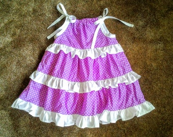 3 Tiered Ruffle Dress for Babies and Toddlers