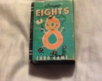 Vintage Crazy Eights Card Game