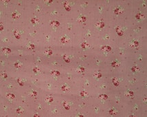 Lecien Antique Rose 30754 - 20 Floral Collection   Sold By The 1/2 Yard