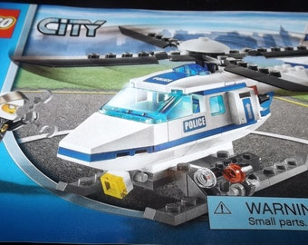 LEGO City Helicopter assembly booklet 7741