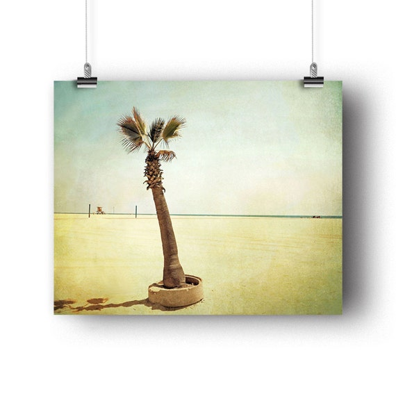 Items similar to palm tree photography wall art print for Beachy decor items