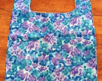 Reusable Grocery Bag - Purple/Blue