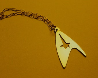 STAR TREK COMMAND badge - necklace - 3 colors available