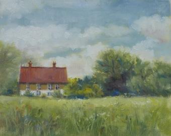 Suffolk landscape, Suffolk Cottage 1
