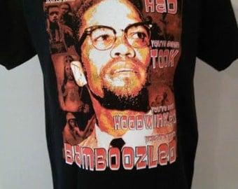 MALCOLM X T-shirt...Bamboozled!..
