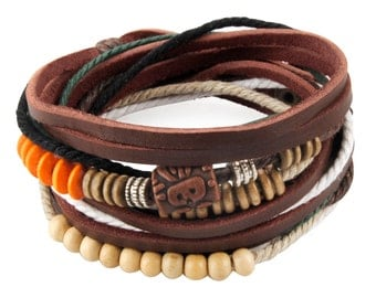 axy wrap bracelet TWIC13-7! Leather Bracelet