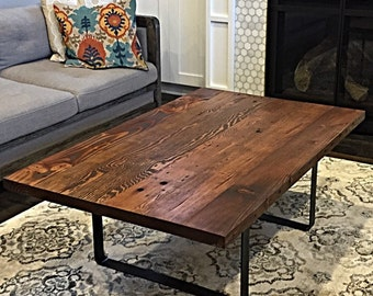 Reclaimed wood coffee tableEtsy
