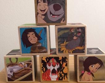 Jungle Book storybook blocks