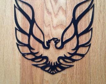 Steel Pontiac Firebird Metal Sign
