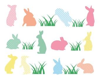 Easter, Easter Bunny Clipart Clip Art, Easter Egg Clipart Clip Art, Bunny Clipart, Spring Clipart, Easter Clip Art, Spring Clipart
