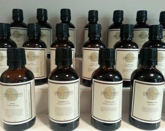 Concentrated Herbal Extracts (Herbal Tinctures)