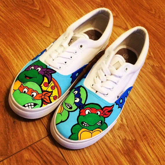 mutant turtles shoes tmnt by