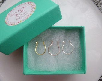 Fake septum Ring Set.