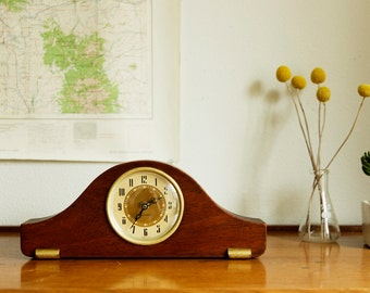 Mid Century Wood Clock - Seth Thomas