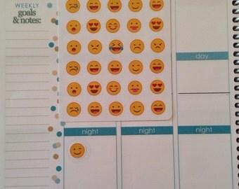 Emoticon stickers