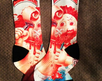 Garbage Pail Kids Custom Socks