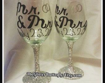 items similar to mr and mrs wedding gift bridal shower