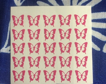Butterfly nail decals, nail art, nail decals,