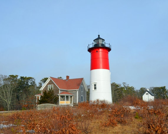 Nauset Lighthouse Fine Art Photography Wall Photo Print