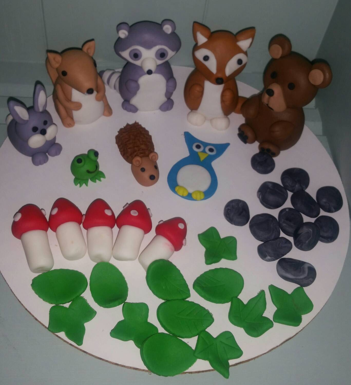 fondant farm animals instructions