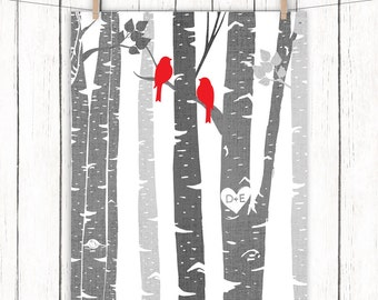Curtains Ideas birch tree curtains : Birch tree shower | Etsy