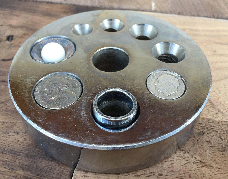 quarter machine ring