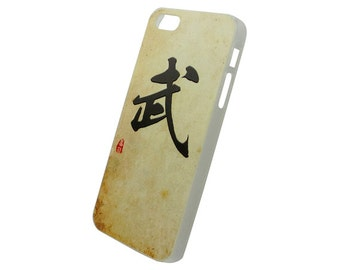 Chinese Calligraphy Surname Wu Mo Hard Case for iPhone SE 5s 5 4s 4
