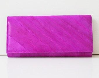 "Women's wallet, womens purse, leather wallet ""Lara"" in pink, genuine leather, leather wallet, handmade, large, modern, hot, Taschenkinder"