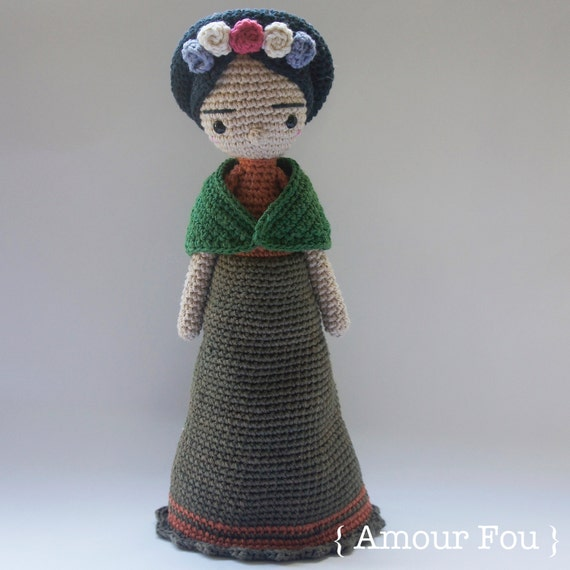 Amigurumi Monster Free Pattern : Frida Crochet Pattern by Amour Fou