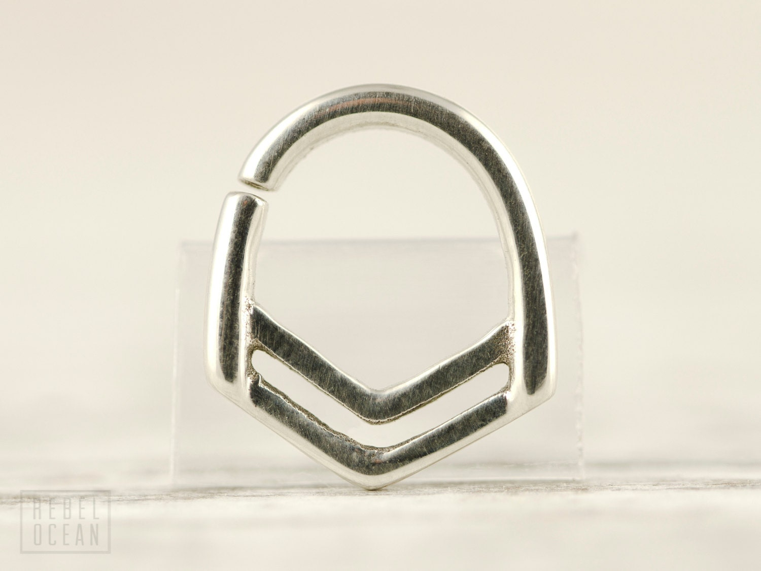 nose ring septum ring jewelry sterling silver bohemian