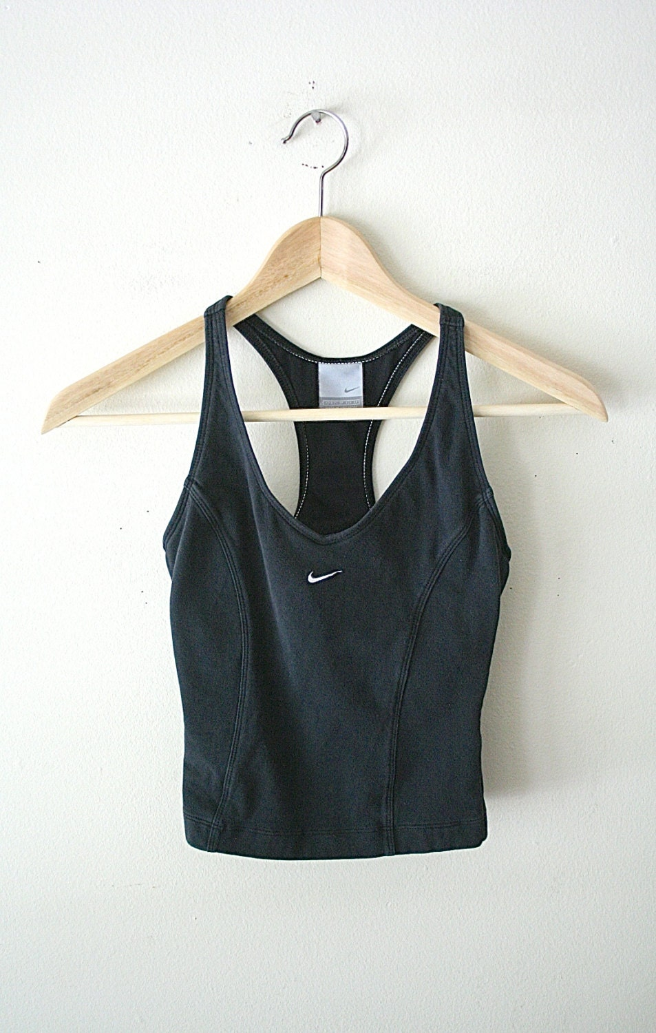 90s nike athletic crop tank top cropped tank by. Black Bedroom Furniture Sets. Home Design Ideas