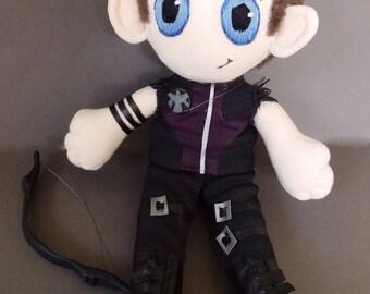 Hawkeye Clint Barton The Avengers Plush Doll Plushie Toy