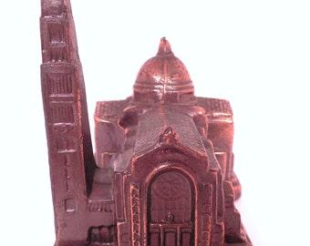 Vintage Pot Metal Souvenir Building of the National Shrine of Immaculate Conception, Washington, D.C.