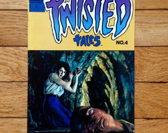 Twisted Tales Comic Book - Vintage Comic Books - Twisted Tales by Pacific Comics