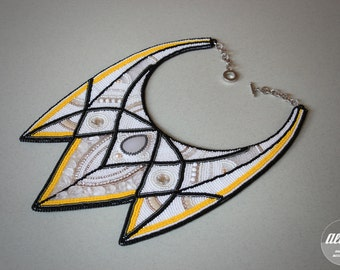 """Beaded necklace """"Gothika"""""""