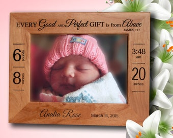 Personalized Picture Frame - Wood Engraved Picture Frame - Laser Engraved Picture Frame Gift