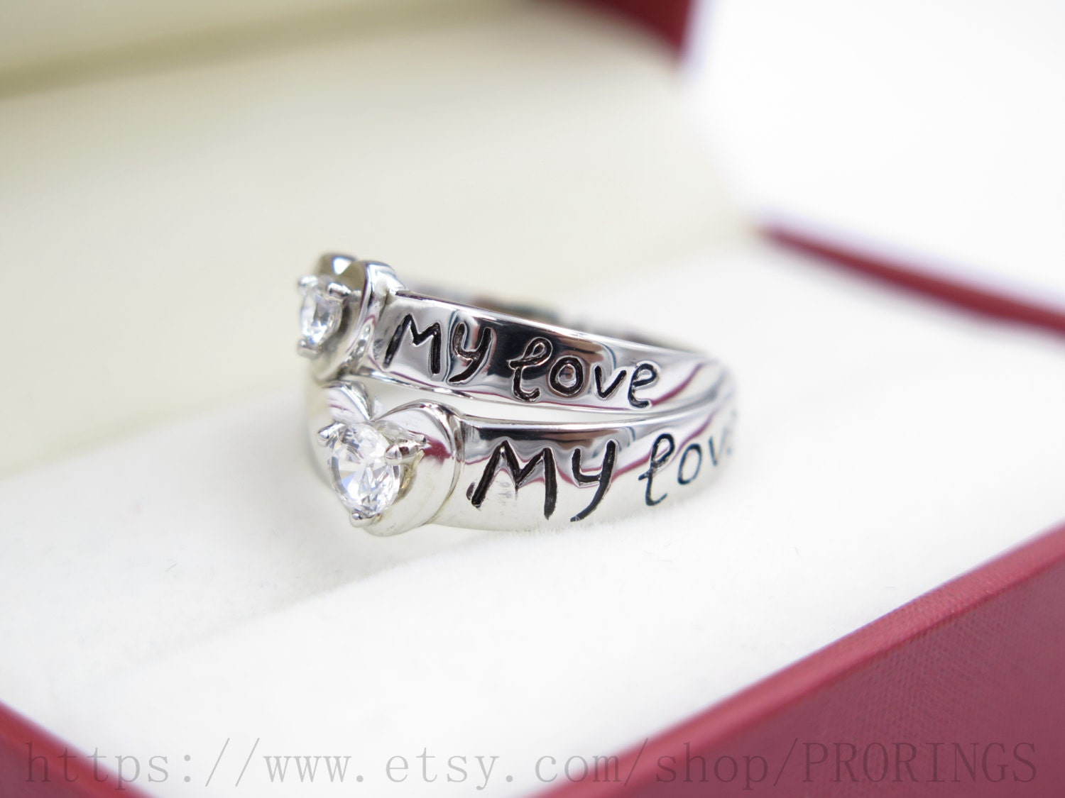personalized unique wedding rings