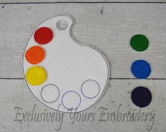 Paint Palette Color Match Game
