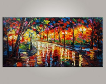 Oil Painting Landscape, Abstract Art, Abstract Painting, Canvas Painting, Large Canvas Art, Oil Painting, Large Wall Art, Original Painting