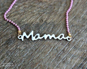Colorines MOM bracelet and chain
