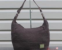 Casual Textured Crochet Shoulder Bag 44