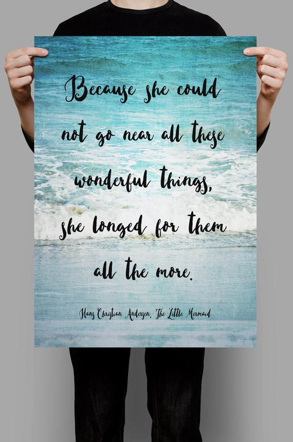 Hans Christian Andersen quote The Little Mermaid quotes - photo#11