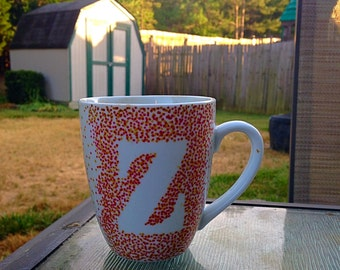 """Personalized """"Z"""" Cup"""