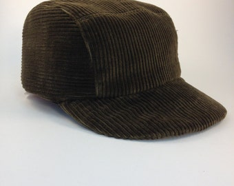 Fitted Corduroy Baseball Cap