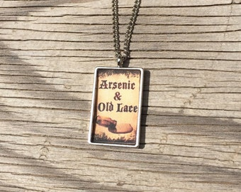 Arsenic and Old Lace Pendant Necklace