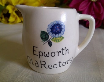 Epworth Old Rectory Souvenir Cup. Epworth Old Rectory, U.K. New Devon Pottery Newton Abbot