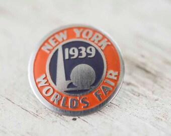 1939 New York World's Fair Collector's Pin